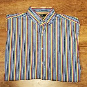 Polo Ralph Lauren L/S Striped Casual Shirt Sz XL